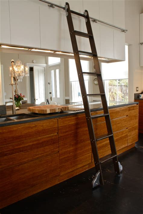 kitchen ladder eclectic kitchen san francisco  shannon malone