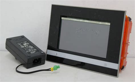 vity 70eib gls 7 quot lcd wall mount knx home automation touch