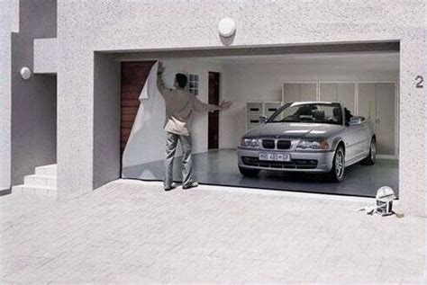 Garage Door Covers Style Your Garage eventually someone thinks of something new impress your