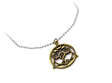 alchemy triangle necklace fullmetal alchemist