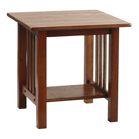 mission style accent tables mission style end table christmas tree shops andthat