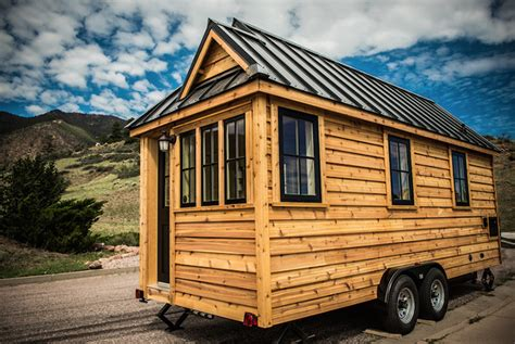 tiny house for 5 5 tiny houses on trailers that you can pull behind a truck