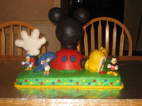 mickey mouse clubhouse cake clubhouse along with shoe
