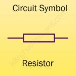 scientific symbol for a resistor drawing circuits for physics lessons for primary science