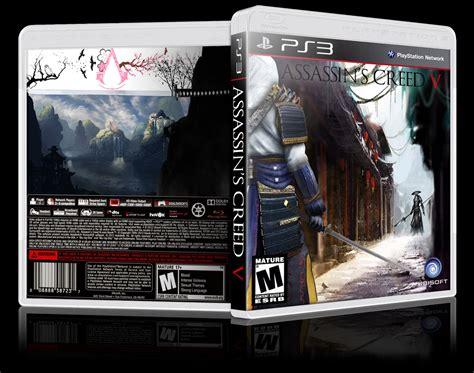 amazoncom assassins creed playstation 3 artist not assassin s creed v playstation 3 box art cover by ausman101