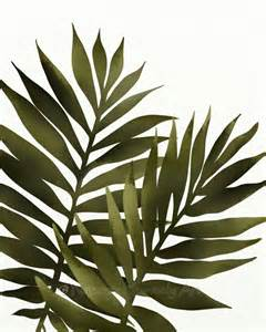 Leaf Wall Decor by Palm Leaf 8 X 10 Print Tropical Decor Green Wall