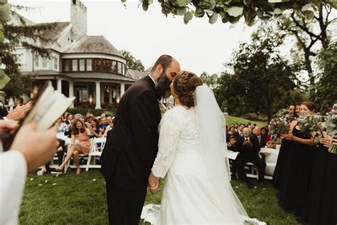 tie the knot tuesday this backyard annapolis wedding is
