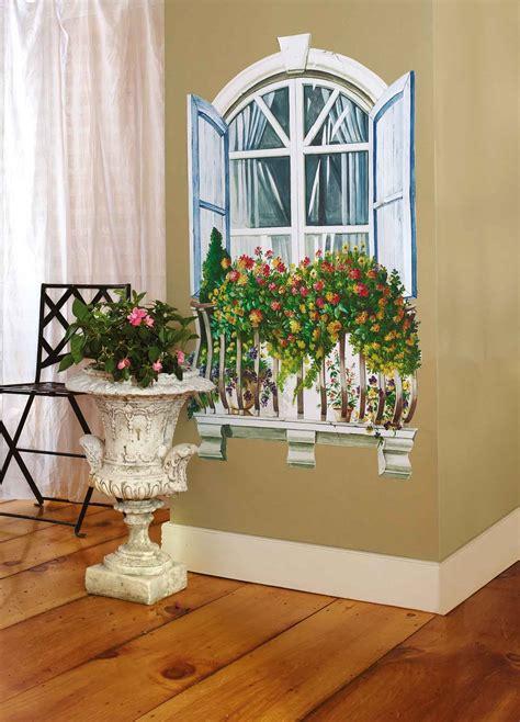 Wandsticker Fenster by Wallies Wandsticker Wandbild Fenster Paris Vorgeleimt