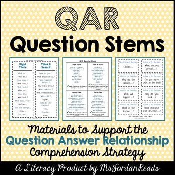 7 Relationship Questions Answered by Question Answer Relationship Qar Student Question