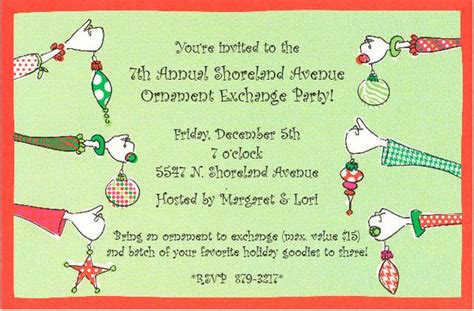 paper celebration planning a holiday ornament exchange party