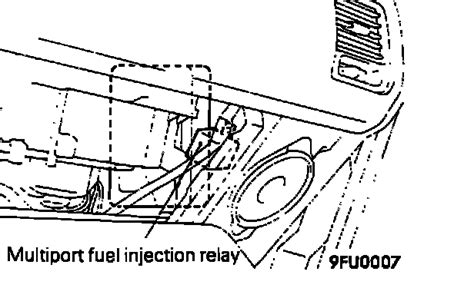 service manual how to remove fuel 1993 eagle summit