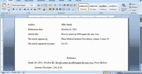 apa format magazine apa format for journal literaturemini ml