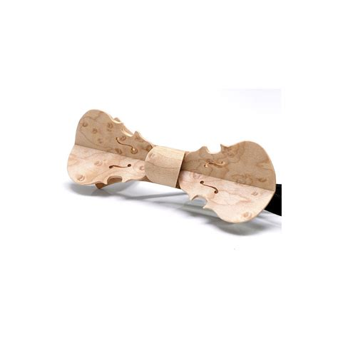 necktie in wood yellow tinted poplar burl melissambre le bois la mode bow tie in wood violin model in pearly maple