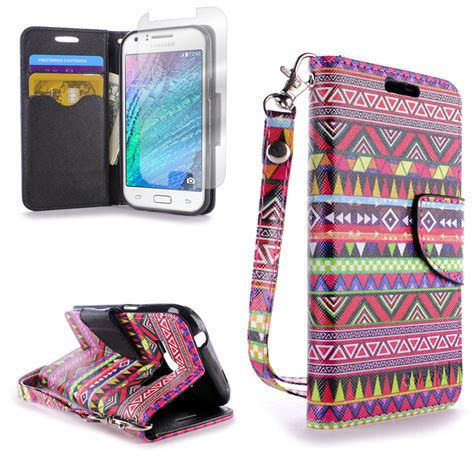 Book Flip Shell Samsung Galaxy J1 Ace for samsung galaxy j1 flip folio credit card wallet pouch cover ebay
