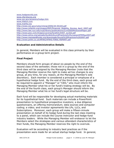Side Letter Agreement Hedge Fund Hedge Funds Investment And Management