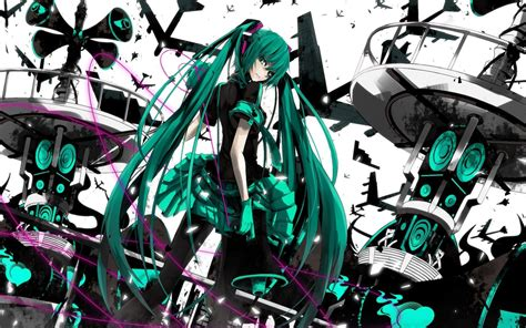 wallpaper anime hatsune miku hatsune miku wallpaper hd free download