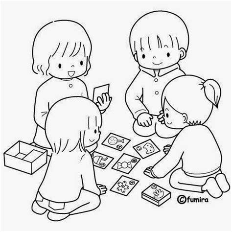 imagenes niños peleando para colorear dibujos de ni 241 os jugando para colorear colorear im 225 genes