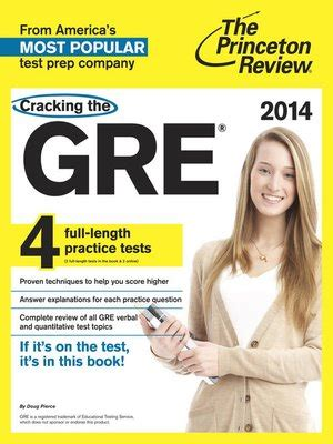 cracking the gre with 4 practice tests 2018 edition the strategies practice and review you need for the score you want graduate school test preparation cracking the gre with 4 practice tests 2014 edition