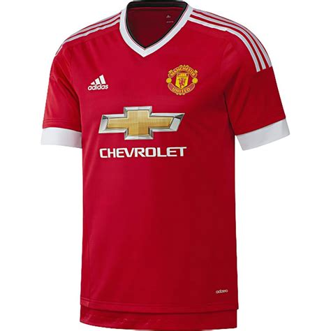 Jersey Manchester United Home adidas manchester united home authentic jersey 15 16 soccerloco