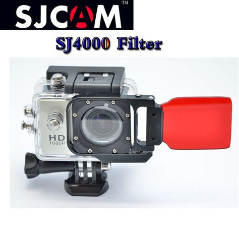 Sjcam Underwater sjcam flip filter underwater sea dive diving water color correction filter lens cover for