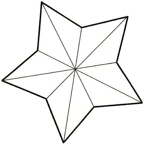 star template for kids clipart best
