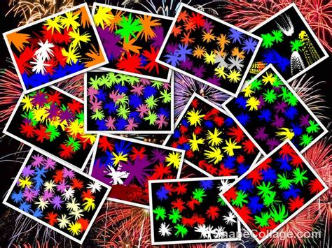 ict painting parkfield primary school reception firework pictures