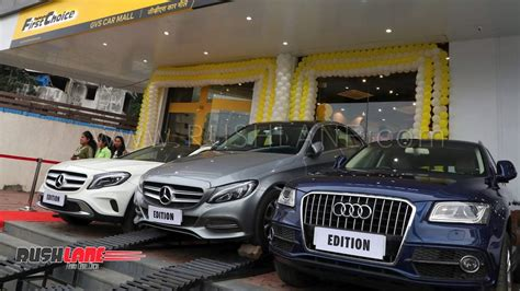 mahindra enters luxury  car market  sell  hand mercedes audi bmw volvo