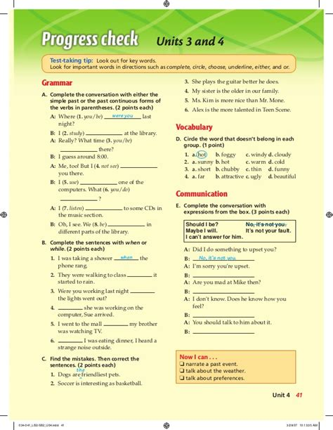libro more testing times test english book 4 student