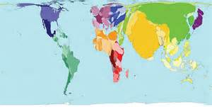 remapping the world s population