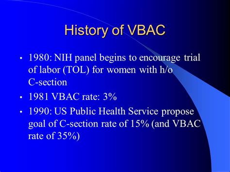 vbac 15 months after c section vaginal birth after c section ppt video online download