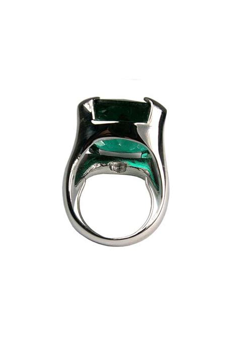 green with envy emerald ring steve sasco design