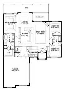 Open Floor Plan House Plans One Story by One Story Open Floor House Plans