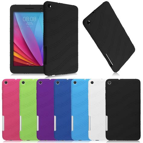 Huawei Mediapad T1 7 0 Inch 701u Casing Leather Flip Berkualitas for 7 quot huawei mediapad t1 7 0 t1 701u tablet phone soft silicone cover ebay
