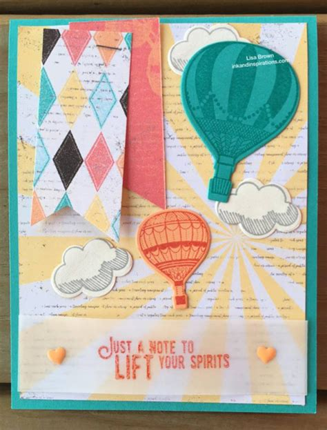 make and send cards make and send a card to lift someone s spirits ink and