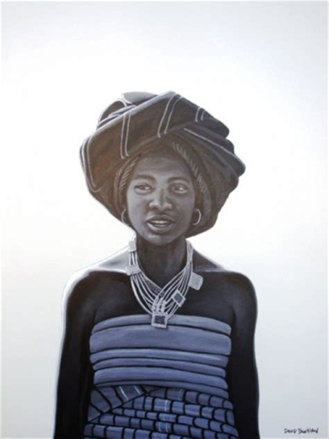 xhosa painting paintings by david bucklow original paintings