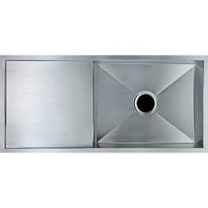 Kitchen Sink With Drainer Board 960x450mm Single Bowl Kitchen Sink With Drainer Board Topmount Undermount Dropin Ebay