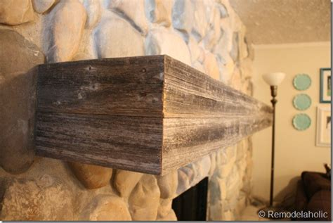 How To Install Fireplace Mantel Shelf by Remodelaholic Installing A Wood Mantel On A Wall