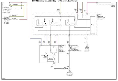 2000 mitsubishi galant stereo wiring diagram 2000 wiring