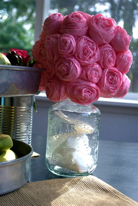 How To Make Paper Flower Centerpieces - paper flower centerpiece flower ideas and centerpieces
