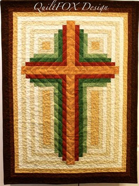 unsupported pattern js log cabin christian cross multiple sizes craftsy