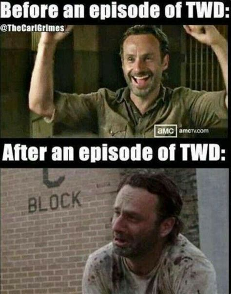 twd memes walking dead meme 017 before and after twd comics and memes