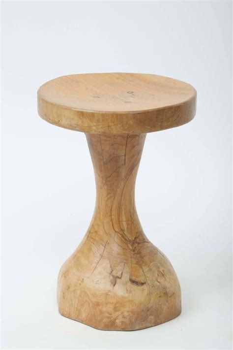 Wooden Stools For Sale by Olive Wood Stool For Sale At 1stdibs