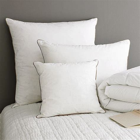 organic euro pillow modern bed pillows by west elm