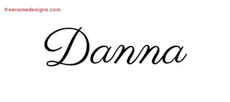 danna archives free name designs