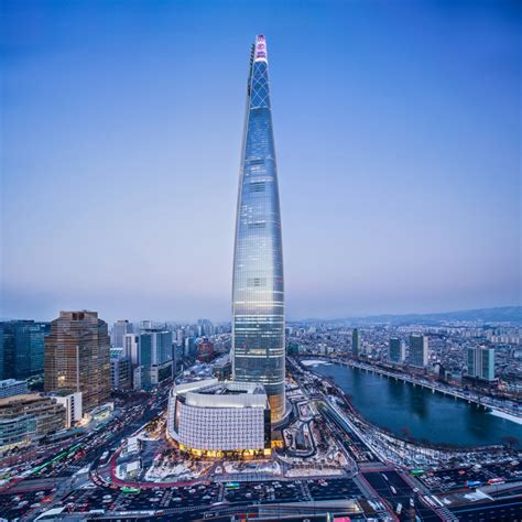 world tower lotte world tower to hold sky run