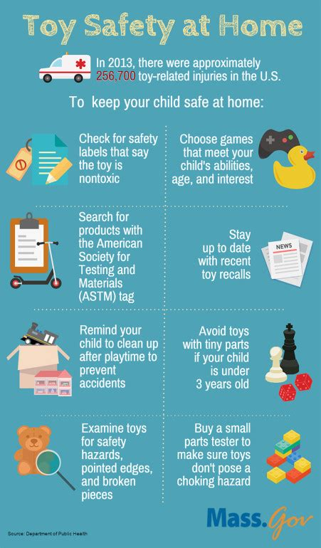 8 Tips To Childproof Your Home by Safety Tips Infographic Children S Safety At Home