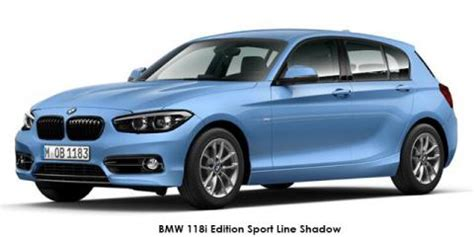 new bmw 1 series 118i 5 door edition sport line shadow