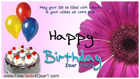 Birthday Greeting Cards Images For Friends