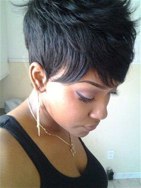 tappered pixie hairstyles for black women tapered pixie short hairstyle 2013