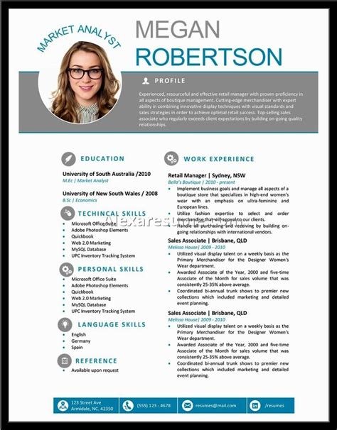 html templates for personal profile professional profile template doc c45ualwork999 org